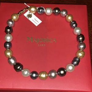 New!! Baroque pearls Necklace!!
